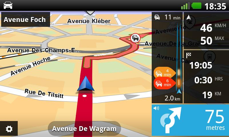 TomTom Western Europe - screenshot