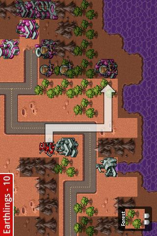 Battle for Mars Lite - screenshot