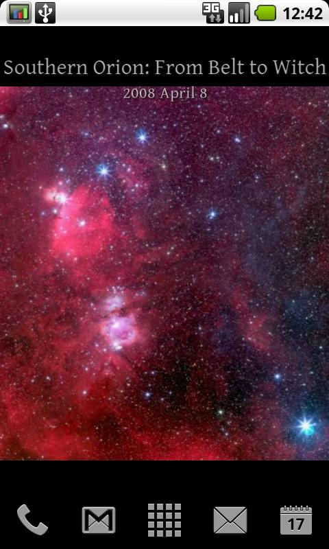 APOD - Live Wallpaper- screenshot