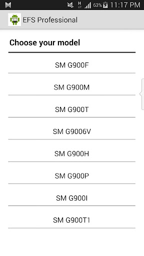 IMEI EFS Manager- Galaxy S5