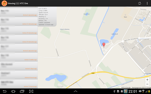 GPeaSe Viewer GPS Tracker- screenshot thumbnail