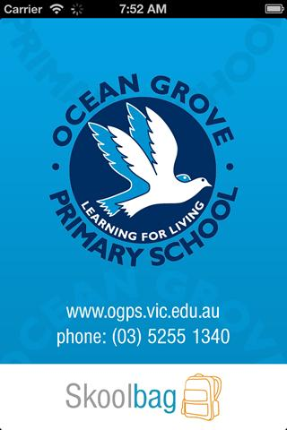 Ocean Grove Primary - Skoolbag - screenshot