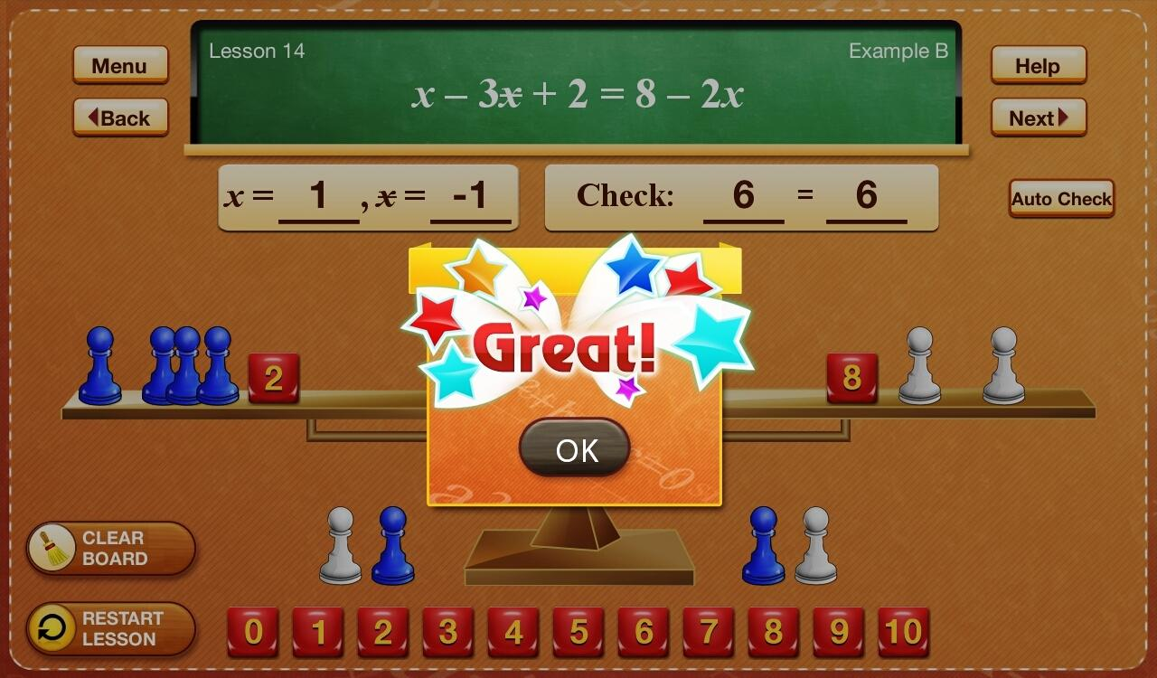 Hands-On Equations 2- screenshot