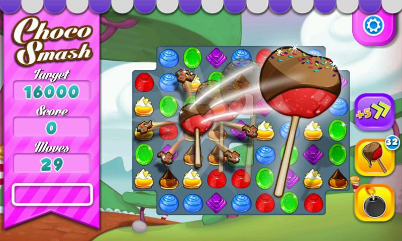 Choco Smash - screenshot