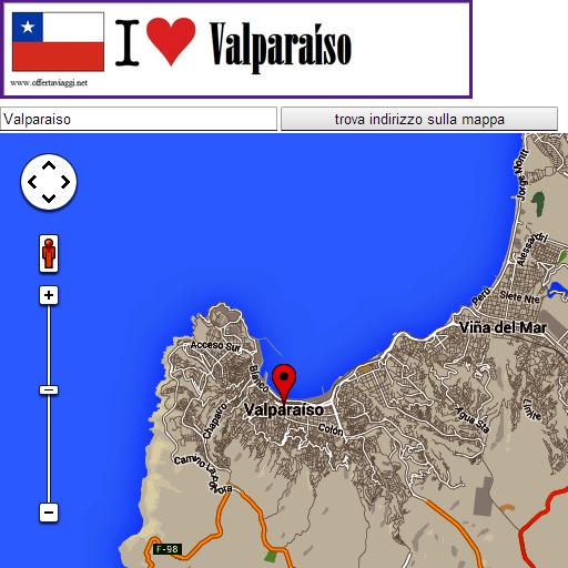Valparaiso map LOGO-APP點子