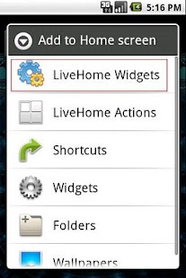 LiveHome- screenshot thumbnail