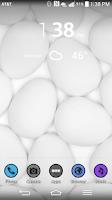 Screenshot of LGHome LG THEME BlkShade
