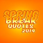 Spring Break Quotes icon