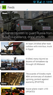 RT News English - screenshot thumbnail