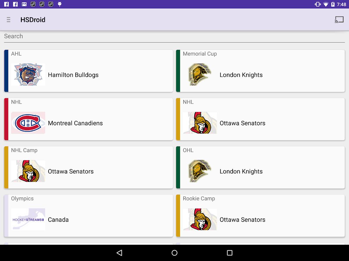 HSDroid - screenshot