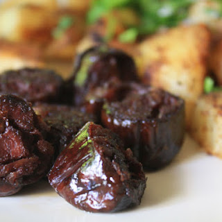 Morcilla with Potatoes and Paprika.