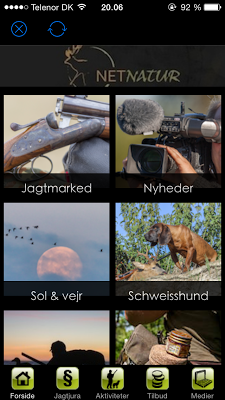 NetNaturDK - screenshot