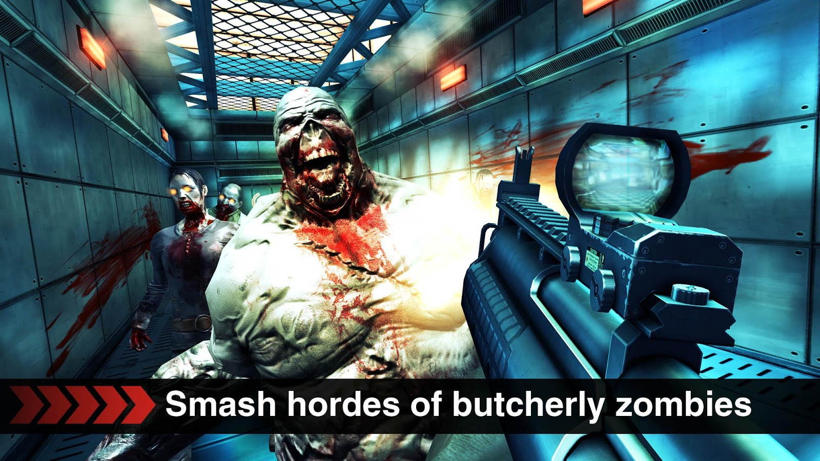 Screenshots of DEAD TRIGGER for iPhone