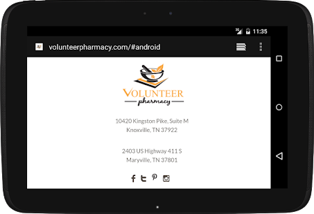 Volunteer Pharmacy- screenshot thumbnail