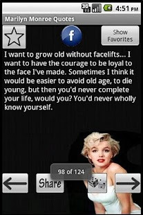 Marilyn Monroe Quotes - screenshot thumbnail