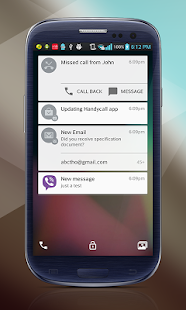 Леденец Lockscreen Android L Screenshot