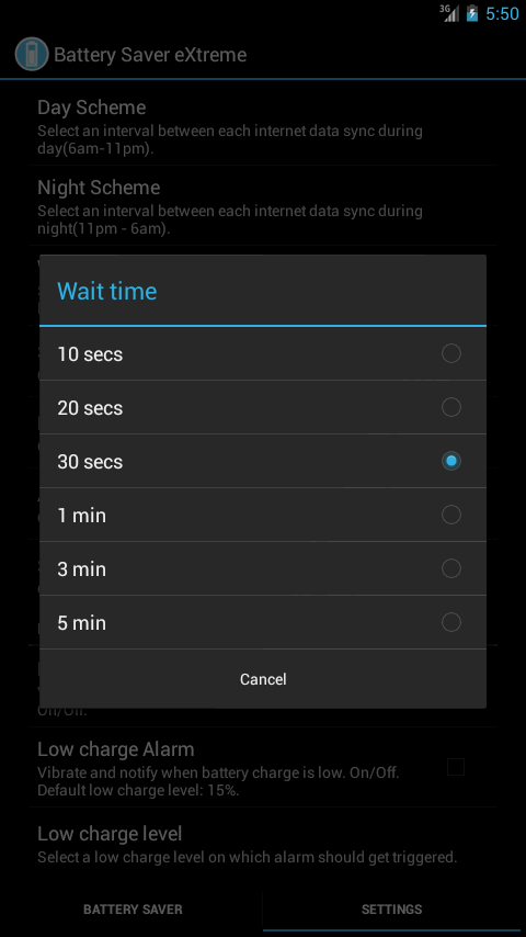 Battery Saver eXtreme- screenshot