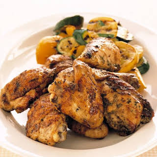 Grilled Tuscan Chicken with Rosemary and Lemon.