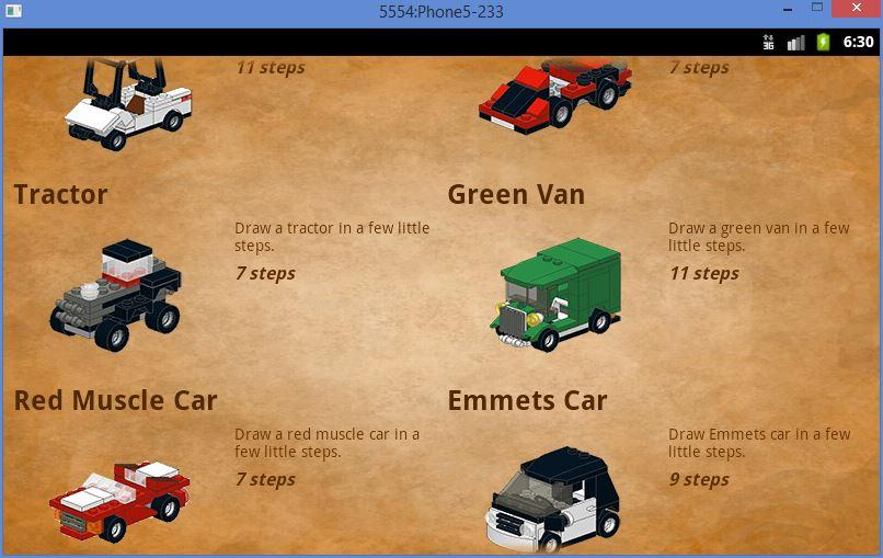 Cars in Bricks- screenshot