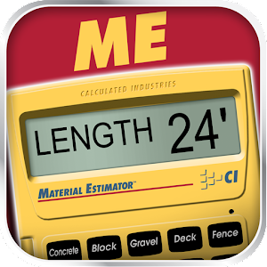 Material Estimator Calculator  1.0.6