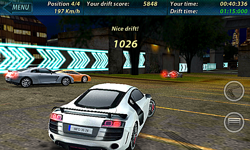 Need for Drift: Most Wanted- screenshot