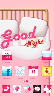 Good Night GO Launcher Theme - screenshot thumbnail