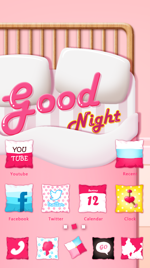 Good Night GO Launcher Theme - screenshot