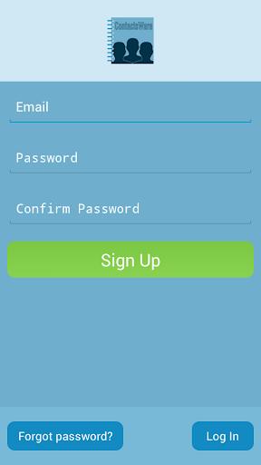 【免費生產應用App】ContactsWare-APP點子
