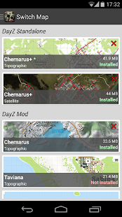 DayZ Standalone Map - iZurvive - screenshot thumbnail