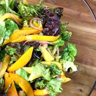 Mango Summer Salad Recipes.