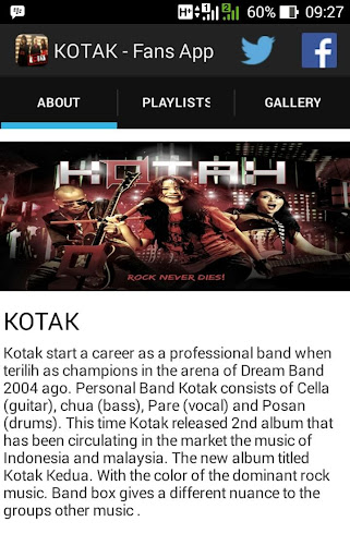 KOTAK Band Unofficial