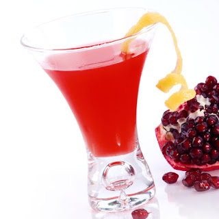 Pomegranate Martini.