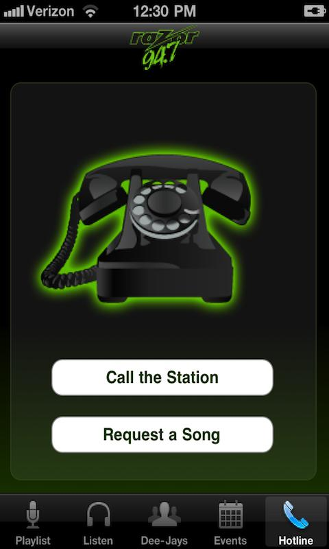 Razor 94.7 - screenshot