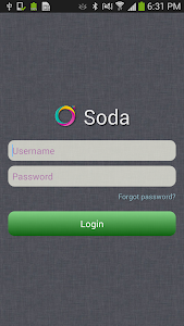 Soda Safe of Data App Mobile screenshot 0