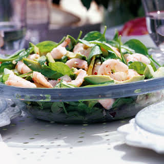 Garlic Prawns Salad Recipes.