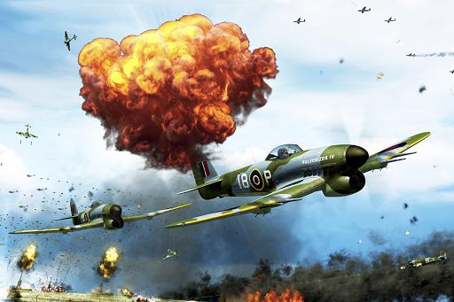 同盟國天空攻略- 免費軍隊飛機賽車遊戲