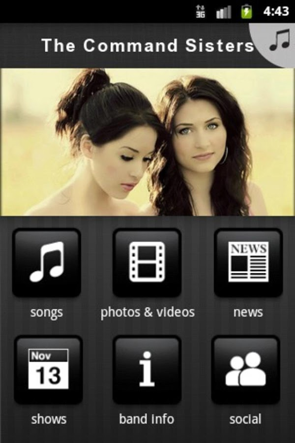 The Command Sisters - screenshot