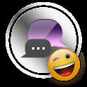 Siri GO SMS Theme logo