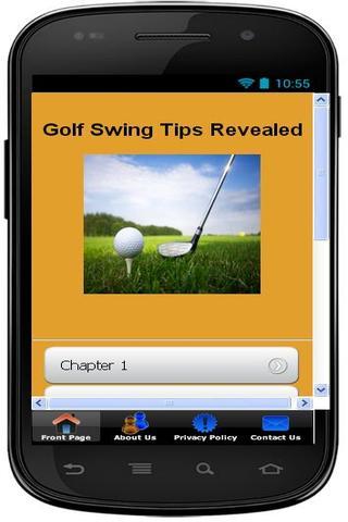 Golf Swing Tips Revealed