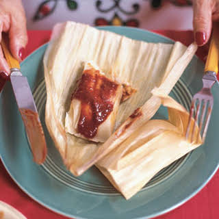 Red Chili Tamales.