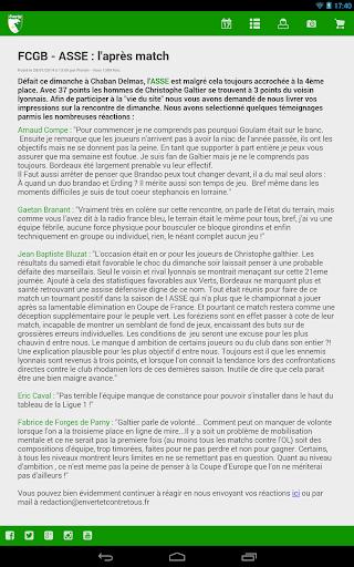【免費新聞App】EVECT En Vert Et Contre Tous-APP點子