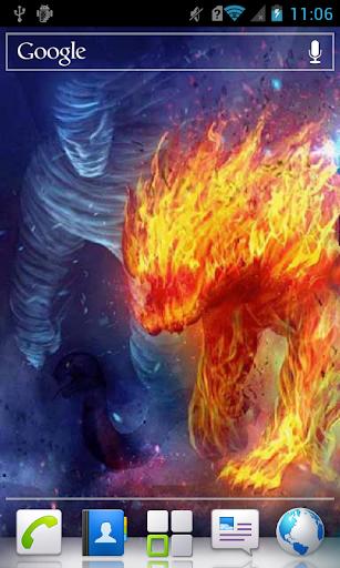 Fire Beast and Mummy a live
