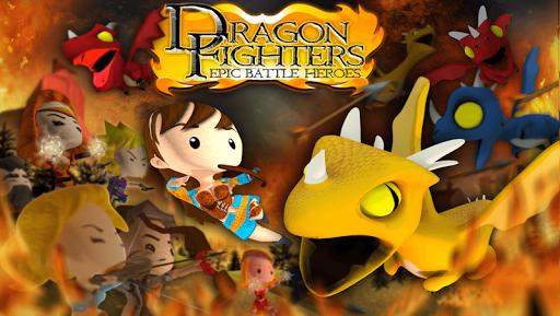 Dragon Fighters Battle Heroes