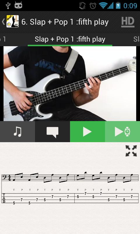 SLAP Bass Lessons HD VIDEOS- screenshot