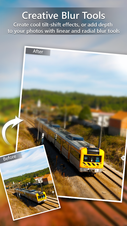 Screenshots of PhotoDirector Photo Editor App for iPhone