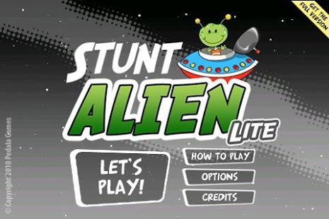 Stunt Alien Lite - screenshot thumbnail