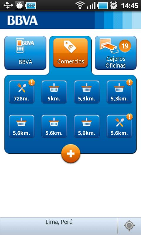 BBVA Banco Continental Contigo - screenshot