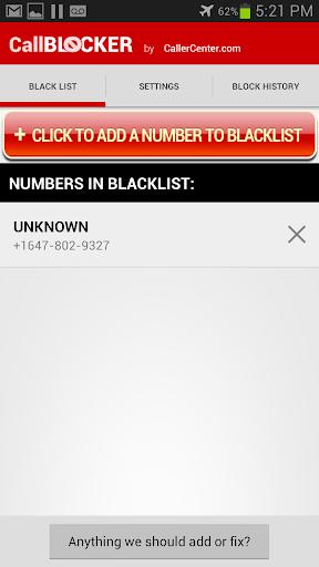 Call blocker -CallerCenter.com