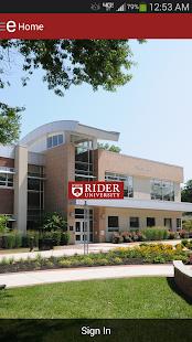Rider University Mobile - screenshot thumbnail