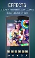 Screenshot of Photo Filter - Bokeh Effects